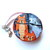 Measuring Tape Gray and Orange Cats Small Retractable Tape Measure