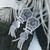 Vintage Anatoli Sterling Silver Door Knocker Tassel Earrings
