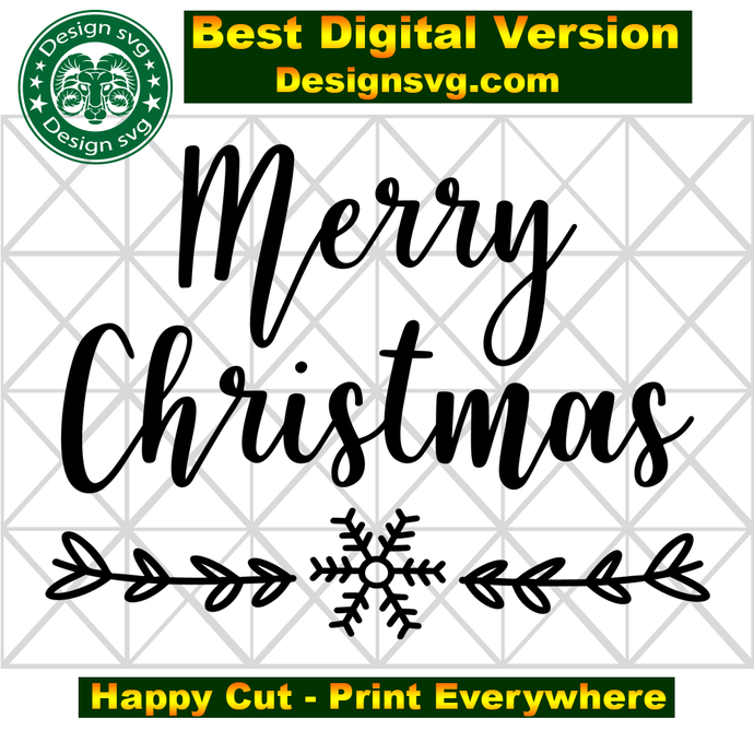 Merry christmas, snow svg, snow christmas, winter svg, christmas decor,
