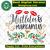 Mistletoe margaritas, mistletoe svg,mistletoe gift,happy christmas day svg,