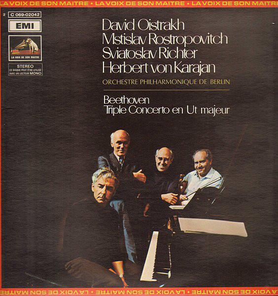 Beethoven* - David Oistrakh*, Mstislav Rostropovitch*, Sviatoslav Richter,