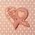 HOPE Pink Awareness Ribbon 4 pc UNCUT  Breast Cancer