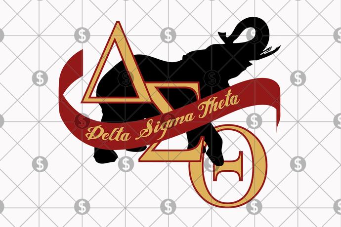 Delta sigma theta sorority bundle art svg, Delta sigma theta, sigma theta gifts,