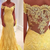 Tulle Off The Shoulder Prom Dresses Mermaid With Applique Sweep Train,AE564