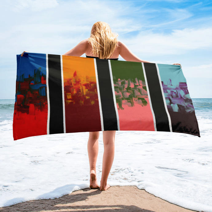 Minimalist Beach Towel