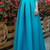 Satin Off-the-shoulder Neckline A-line Prom Dresses With Lace Appliques