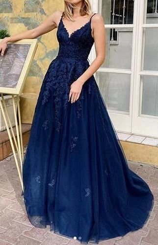 Long Prom Dress With Applique ,Fashion Dance Dress,Sweet 16 Quinceanera Dress