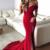Mermaid Off The Shoulder Prom Dresses,Long Prom Dresses,Cheap Prom Dresses,