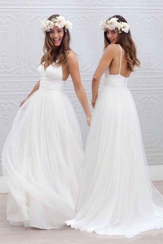 Vintage Wedding Dress Ivory Cheap Wedding Dress · SexyPromDress · Online Store