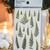 Appree Press Leaf Stickers - Bracken Fern, see-through backing PET stickers