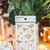 Appree Press Leaf Stickers - Freesia, see-through backing PET stickers