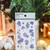 Appree Press Leaf Stickers - Lakspur, see-through backing PET stickers