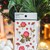 Appree Press Leaf Stickers - Mini Rose, see-through backing PET stickers