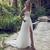 2020 Latest Wedding Dresses Off Shoulder Sweep Train Backless Garden Beach