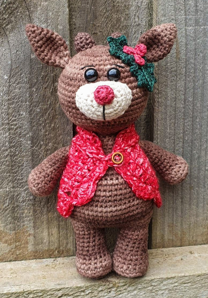 Holly the Reindeer - KIT & PDF