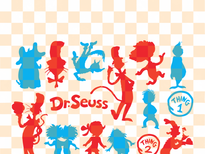 Dr Seuss svg bundle , Dr Seuss svg, Dr Seuss gift, Dr Seuss birthday, Dr Seuss