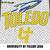 University of Toledo Rockets Toledo Ohio College Logo crochet graphgan blanket