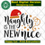 Naughty is the new nice, naughty funny, santa hat, santa hat svg, star