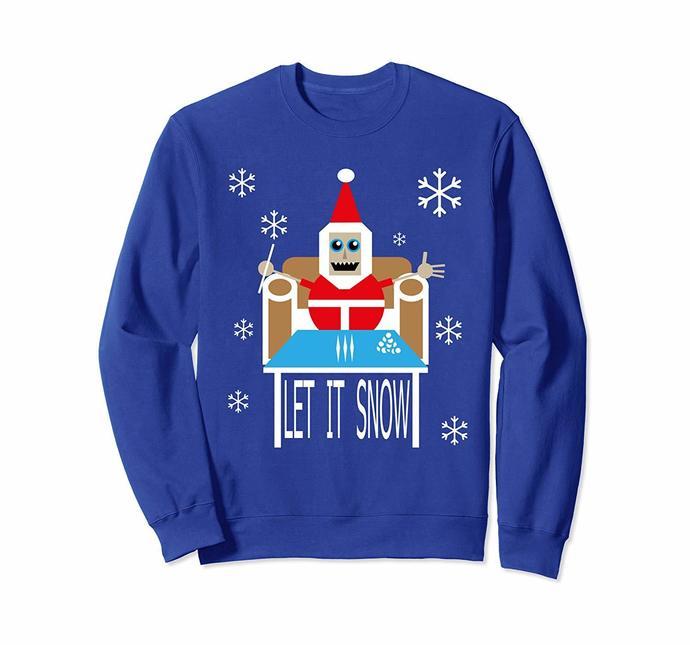 Let It Snow Santa Cocaine Adult Humor Xmas Funny Svg, Christmas svg, Snow svg,