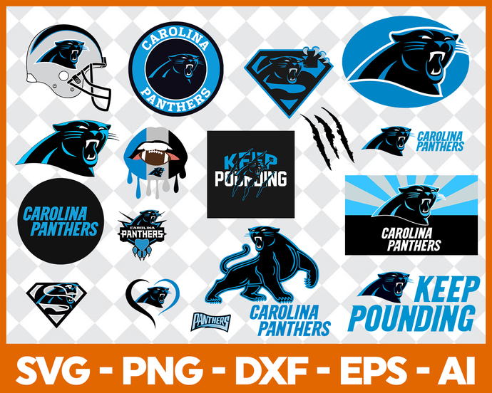 Carolina Panthers, Carolina Panthers logo, Carolina Panthers svg, Carolina
