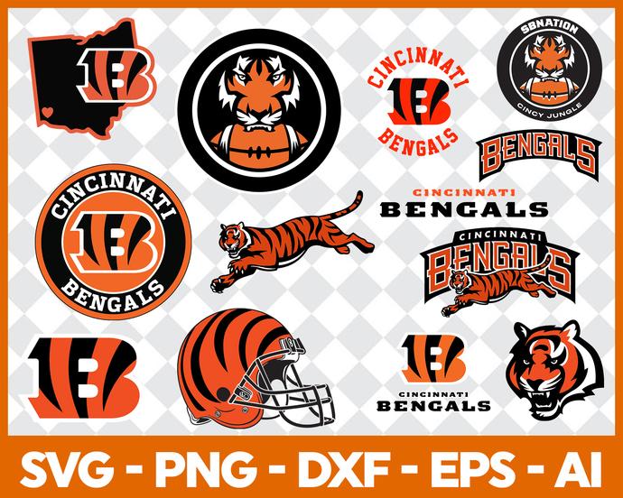 Cincinnati Bengals, Cincinnati Bengals logo, Cincinnati Bengals svg, Cincinnati