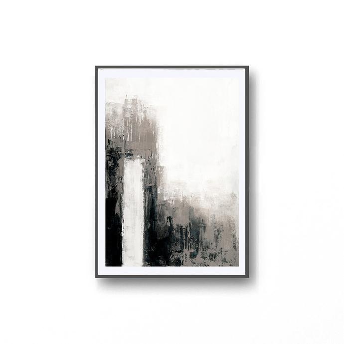 Digitat abstract, contemporary art, scandinavian ,neutral abstract, PRINTABLE ,