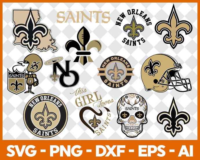 New Orleans Saints, New Orleans Saints logo, New Orleans Saints svg, New Orleans