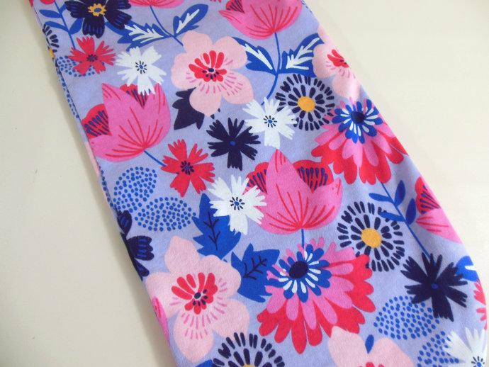Swaddle Sack, Sleep Sack, Cocoon, Blanket, Wrap in Purple & Pink Flowers