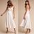 2020 Simple A Line Spaghetti Straps Sexy Backless Bridal Cheap Summer Wedding