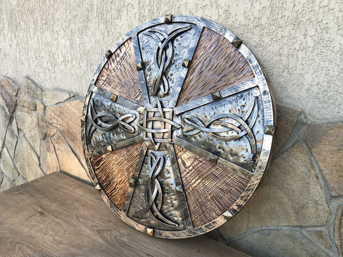Decorative shield, shield, viking shield, cosplay shield, Celtic shield, mens