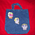 Day of the Dead - Blue Jean Bag
