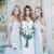 2020 Off Shoulder Beach Boho Long Bridesmaid Dresses Bohemian Wedding Party