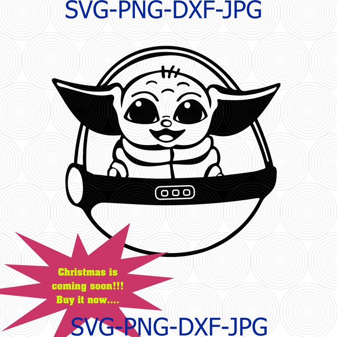 Download Baby Yoda svg, Mandalorian Star Wars, The Child by ...