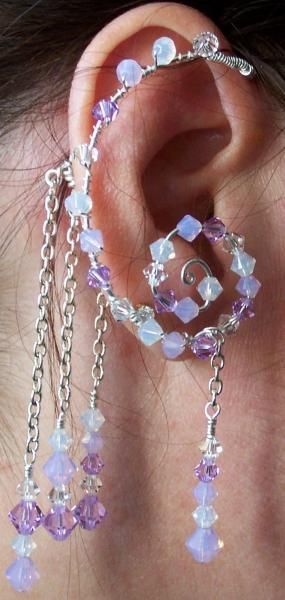 Elemental Air Earwrap/Earcuff Set