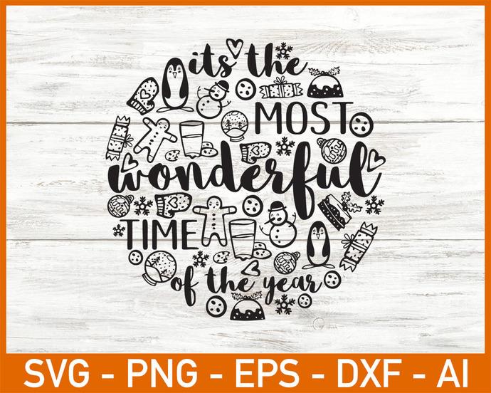 Christmas Sayings SVG, Merry Christmas Quotes Svg Vector, Funny Christmas Svg,