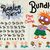 Rugrats bundle / Rugrats installable font OTF + Rugrats font SVG + Rugrats