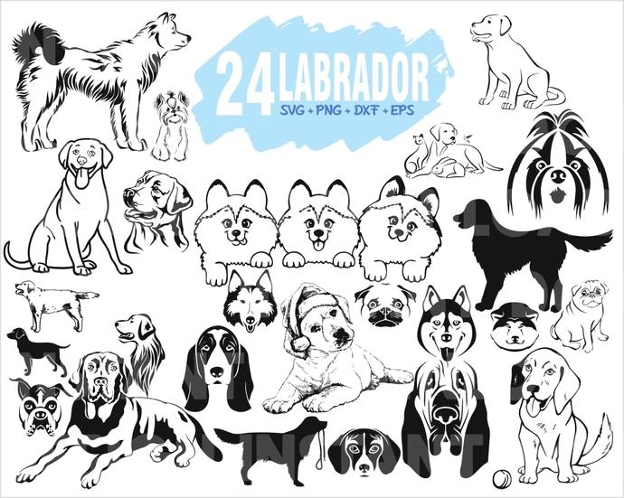 LABRADOR SVG / Retriever svg / DOG svg / Puppy svg / pet svg / animal svg /