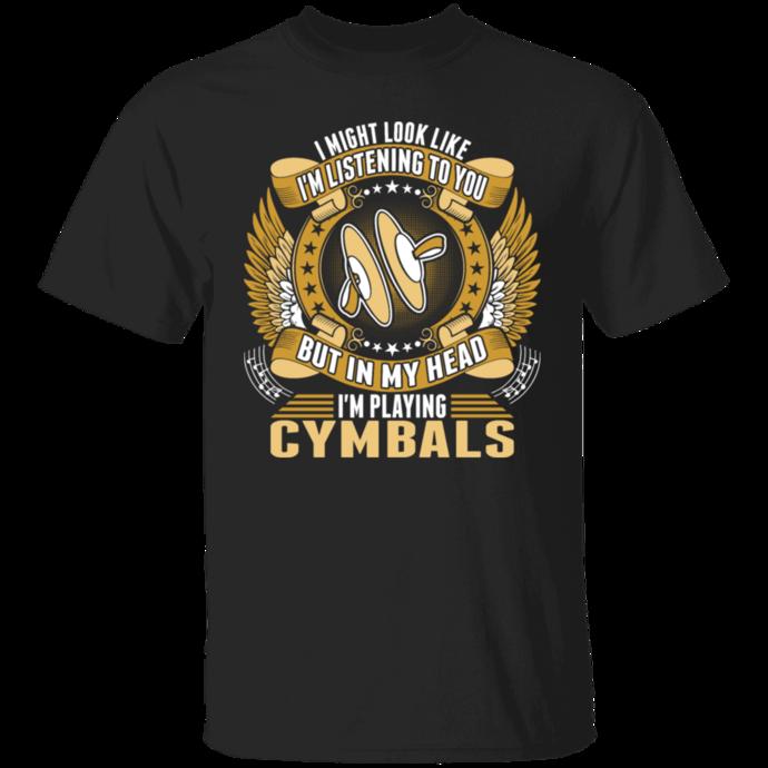 Im Playing Cymbals Tshirt Men Tshirt
