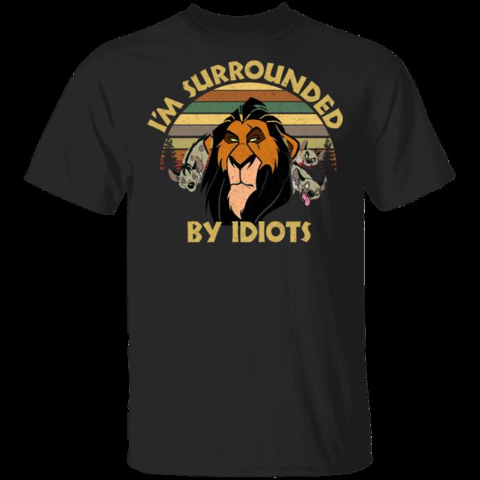 I'm Surrounded by Idiots Retro Men Tshirt