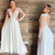Plus Size Beach Wedding Dresses with Long Sleeves Modern V-neck Lace Applique