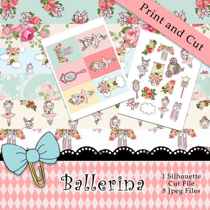 """Ballerina"" Printable Download"