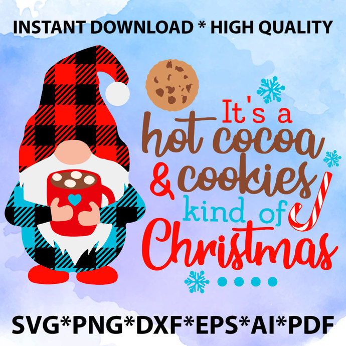 Hot Cocoa Cutie SVG file, Christmas SVG cut file, Winter SVG, Christmas shirt