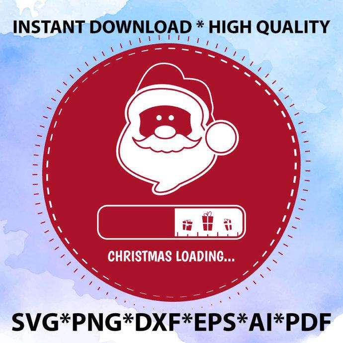 Christmas Loading svg, Christmas lights svg, christmas svg, christ svg, cut