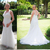 2020 Modest Country Wedding Dresses With Sheer cap Sleeves V Neck vintage Lace