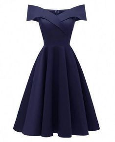 Sleeveless A-Line Cocktail Vintage Dress