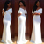 Elegant White Aso Ebi Evening Dresses Mermaid Cap Sleeves Floor Length Long Prom