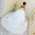 Simple Arabic Wedding Dresses Ivory Satin Ball Gown Wedding Dress Sweetheart