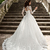2020 New A-line Wedding Dresses Sheer Long Sleeves Lace Corset Back Vintage