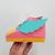 DIY Papercraft shoes,Canvas shoe,Shoe favor box,3d shoe,Baby shoe,Roller derby