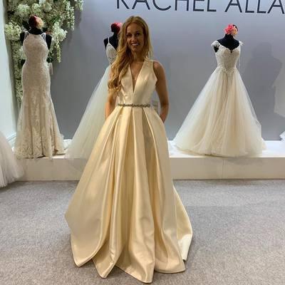 Ivory Wedding Dresses Wedding Dress Custom Made Wedding Gown